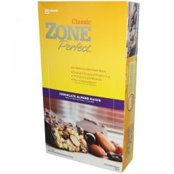 ZonePerfect, Classic, All-Natural Nutrition Bars, Chocolate Almond Raisin, 12 Bars, 1.76 oz (50 g) Each Country