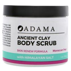 Zion Health, Adama, Ancient Clay, Body Scrub, Moroccan Pear, 4 oz (113 g) Pozostałe