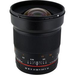 Rokinon 24mm f/1.4 ED AS UMC Wide-Angle Lens for Canon RK24M-C Historyczne