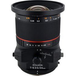 Rokinon Tilt-Shift 24mm f/3.5 ED AS UMC Lens for Pentax TSL24M-P