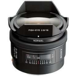 Sony  16mm f/2.8 Fisheye Lens SAL16F28 Fotografia