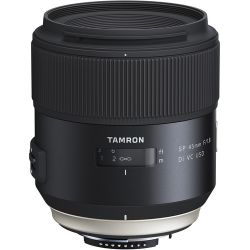 Tamron SP 45mm f/1.8 Di VC USD Lens for Nikon F AFF013N-700 B&H Fotografia