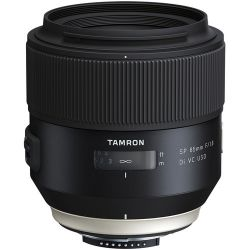 Tamron SP 85mm f/1.8 Di VC USD Lens for Nikon F AFF016N700 B&H Fotografia