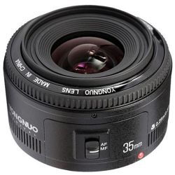 Yongnuo YN 35mm f/2 Lens for Canon EF YN35MM 2.0 C B&H Photo Fotografia