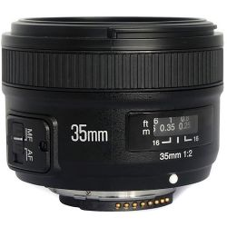 Yongnuo YN 35mm f/2 Lens for Nikon F YN35MM 2.0 N B&H Photo Fotografia
