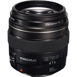 Yongnuo YN 100mm f/2 Lens for Canon EF YN100MMF2C B&H Photo Fotografia