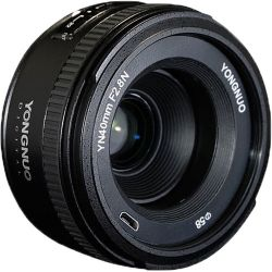 Yongnuo YN 40mm f/2.8N Lens for Nikon F YN40MM F2.8/N B&H Photo Fotografia