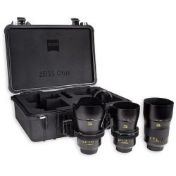 ZEISS Otus ZE Bundle with 28mm, 55mm, and 85mm Lenses 2182-366 Obiektywy