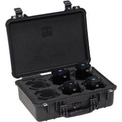 ZEISS Milvus ZE Super Speed Four-Lens Bundle for Canon 2257-887 Obiektywy