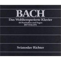 The Well-Tempered Clavier (Books I + II) - Richter Sviatoslav