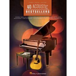 40 Acoustic Bestsellers by Hal Leonard Publishing Corporation | 9781480350953 | Booktopia