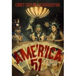 America 51, A Probe into the Realities That Are Hiding Inside 'The Greatest Country in the World' by Corey Taylor | 9780306825446 | Booktopia
