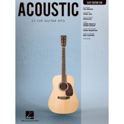 Acoustic, Easy Guitar with Notes & Tab by Hal Leonard Publishing Corporation | 9781423498353 | Booktopia Pozostałe