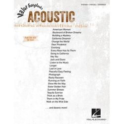 Acoustic, Value Songbooks Series by Hal Leonard Publishing Corporation | 9781476822259 | Booktopia Pozostałe