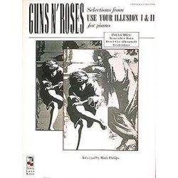 Guns N' Roses - Selections from Use Your Illusion I & II by Guns N' Roses | 9780895247346 | Booktopia