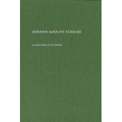 Johann Adolph Scheibe, A Catalogue of His Works by Peter Hauge | 9788763545600 | Booktopia Książki i Komiksy