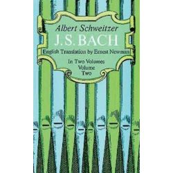 J. S. Bach, Volume Two, Dover Books on Music by Professor Albert Schweitzer | 9780486216324 | Booktopia