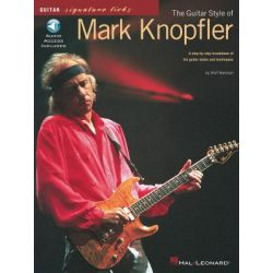 The Guitar Style Of Mark Knopfler, Guitar Signature Licks by Wolf Marshall | 9780793581290 | Booktopia