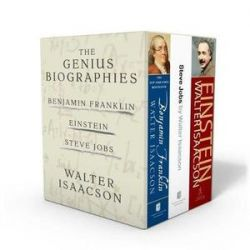 Walter Isaacson: The Genius Biographies, Benjamin Franklin, Einstein, and Steve Jobs by Walter Isaacson   9781501189012   Booktopia