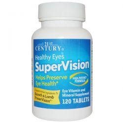 21st Century, Healthy Eyes SuperVision, High-Potency Formula, 120 Tablets Biografie, wspomnienia