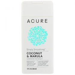 Acure, Simply Smoothing Conditioner, Coconut & Marula, 12 fl oz (354 ml) Biografie, wspomnienia