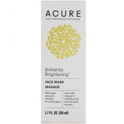 Acure, Brilliantly Brightening, Face Mask, 1.7 fl oz (50 ml) Biografie, wspomnienia