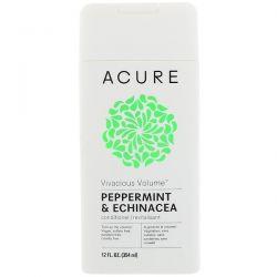 Acure, Vivacious Volume Conditioner, Peppermint & Echinacea, 12 fl oz (354 ml) Biografie, wspomnienia