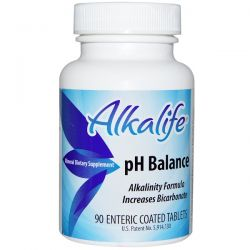 Alkalife, pH Balance, 90 Enteric Coated Tablets