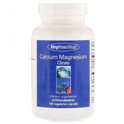 Allergy Research Group, Calcium Magnesium Citrate, 100 Vegetarian Capsules Biografie, wspomnienia