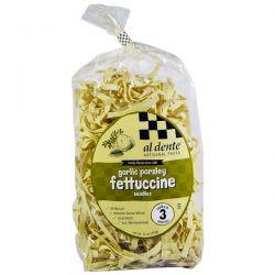 Al Dente Pasta, Garlic Parsley Fettuccine Noodles, 12 oz (341 g)
