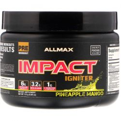 ALLMAX Nutrition, Impact Igniter, Pineapple Mango, 4.05 oz (115 g) Biografie, wspomnienia