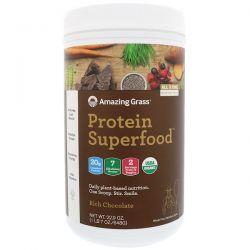 Amazing Grass, Protein Superfood, Rich Chocolate, 1 lb 7 oz (648 g) Biografie, wspomnienia
