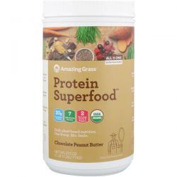 Amazing Grass, Protein Superfood, Chocolate Peanut Butter, 27.3 oz (774 g) Biografie, wspomnienia