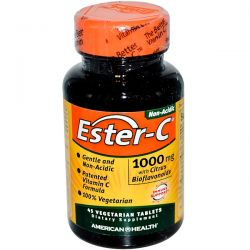 American Health, Ester-C, 1000 mg, 45 Veggie Tabs Biografie, wspomnienia