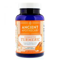 Ancient Apothecary, Fermented Turmeric, 90 Capsules