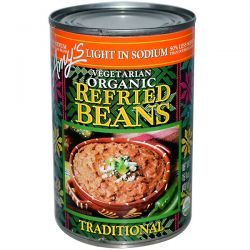 Amy's, Organic, Refried Beans, Traditional, Vegetarian, Light in Sodium, 15.4 oz (437 g) Pozostałe