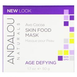 Andalou Naturals, Skin Food Mask, Avo Cocoa, Age Defying, 1.7 oz (50 g) Biografie, wspomnienia