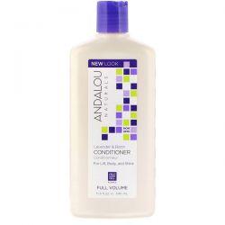 Andalou Naturals, Conditioner, Full Volume, For Lift, Body, and Shine, Lavender & Biotin, 11.5 fl oz (340 ml) Pozostałe