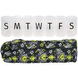 Apex, Pill Organizer with Decorative Sleeve, XL, 1 Pill Organizer