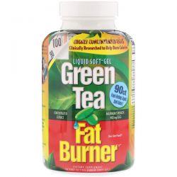 appliednutrition, Green Tea Fat Burner, 90 Fast-Acting Liquid Soft-Gels Pozostałe