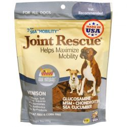 "Ark Naturals, Sea ""Mobility"", Joint Rescue, For All Dogs, Venison, 9 oz (255 g) Biografie, wspomnienia"