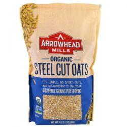 Arrowhead Mills, Organic Steel Cut Oats, Hot Cereal, 24 oz (680 g) Biografie, wspomnienia