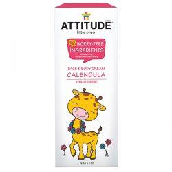 ATTITUDE, Little Ones, Calendula Face & Body Cream, 2.6 oz (75 g) Biografie, wspomnienia