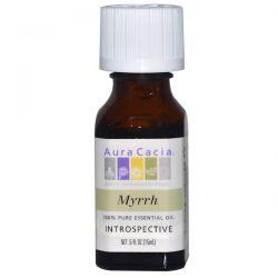 Aura Cacia, 100% Pure Essential Oil, Myrrh, .5 fl oz (15 ml) Biografie, wspomnienia
