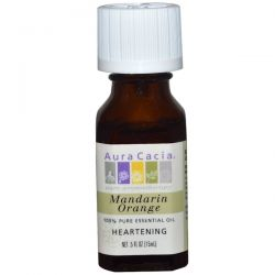 Aura Cacia, 100% Pure Essential Oil, Mandarin Orange, Heartening, .5 oz (15 ml) Biografie, wspomnienia