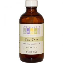 Aura Cacia, 100% Pure Essential Oil, Tea Tree, 4 fl oz (118 ml) Biografie, wspomnienia
