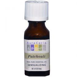 Aura Cacia, 100% Pure Essential Oil, Patchouli, .5 fl oz (15 ml) Biografie, wspomnienia