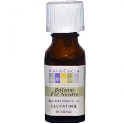 Aura Cacia, 100% Pure Essential Oil, Balsam Fir Needle, Elevating, .5 fl oz (15 ml) Pozostałe