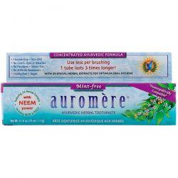 Auromere, Ayurvedic Herbal Toothpaste, Mint-Free, 4.16 oz (117 g)