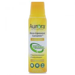 Aurora Nutrascience, Micro-Liposomal Curcumin, All-Natural Fruit Flavor, 200 mg, 5.4 fl oz (160 ml) Biografie, wspomnienia